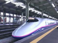 新幹線に乗って日帰りで行ってきました。