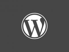 We love WordPress!