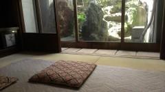1回の和室は庭を眺められます