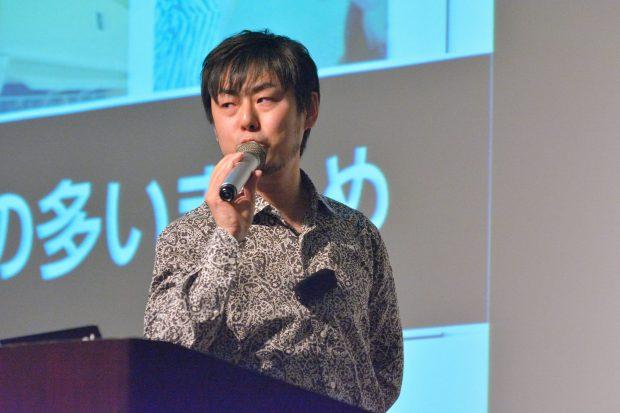松尾さん(Photo by Masayuki Iida)